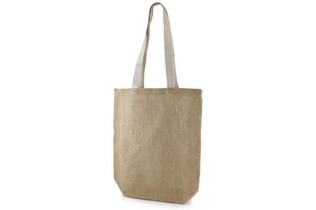 Ou un tote bag en toile de jute ?