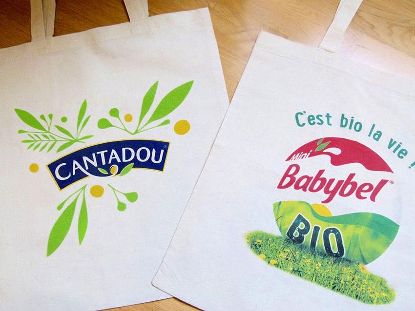 Des tote bags personnalisables pas chers, mais de qualité !