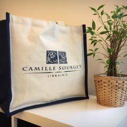 Sac cabas personnalisé Camille Sourget
