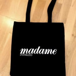 Tote bag personnalisé Madame Figaro