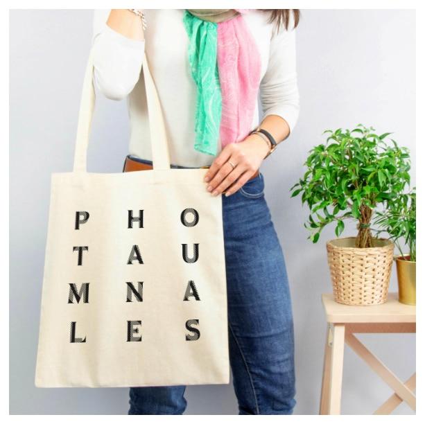 Tote-bag personnalisé Photautomnales