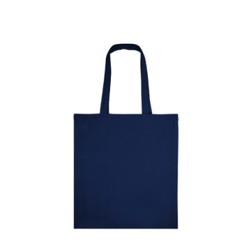 Tote bag bleu marine en coton