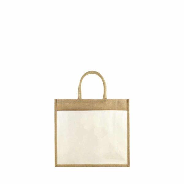 sac cabas en toile de jute écologique
