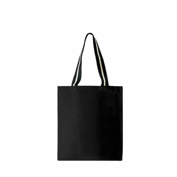 sac cabas noir à personnaliser