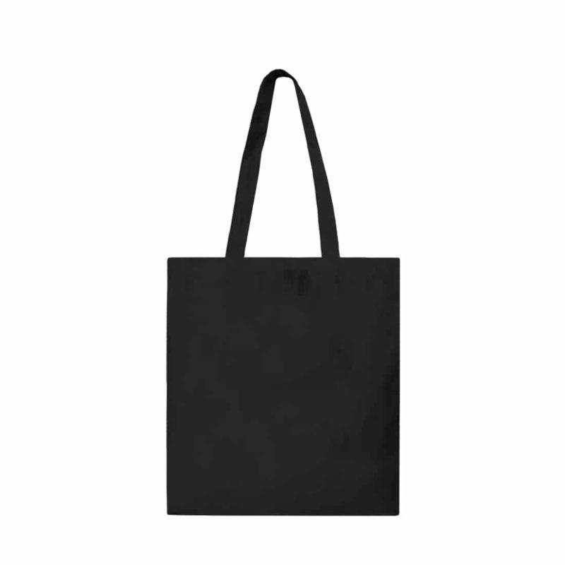 tote bag en coton bio noir