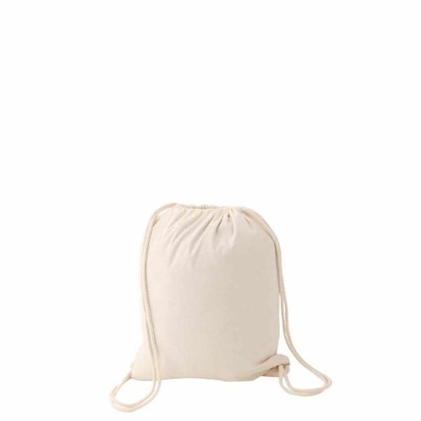 sac à dos en coton personnalisable