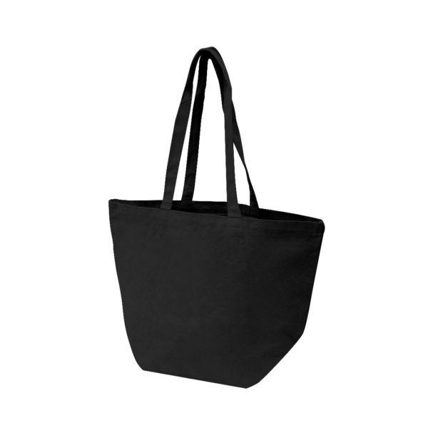 sac de plage noir en coton épais