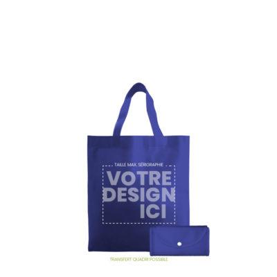 sac shopping pliable lorraine avec zones de marquage