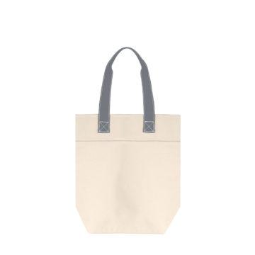 sac cabas tendance bicolore en coton épais