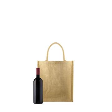 sac 3 bouteilles en toile de jute