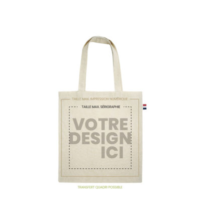 tote bag made in france 230gr marquage