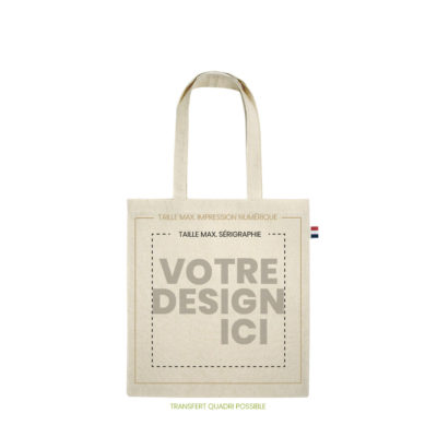 tote bag bio made in france 230gr marquage