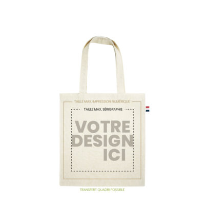 tote bag made in france 150gr marquage