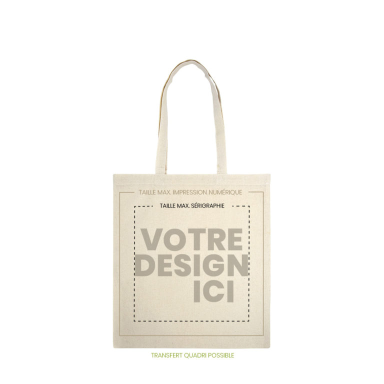 tote bag camargue naturel marquage