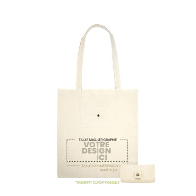 tote bag limousin recto marquage