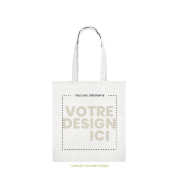 tote bag pilat marquage