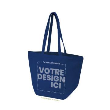 sac de plage coton bio à personnaliser