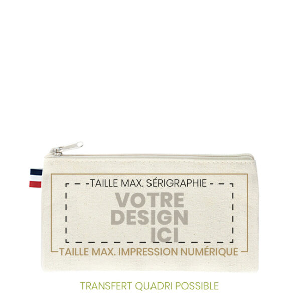 trousse coton made in france