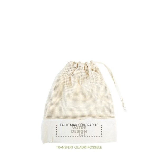 Sac Filet Alpilles en coton bio